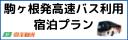 往復高速バスプラン 駒ヶ根発東京